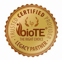 trusted certified biote provider legacy partner badge